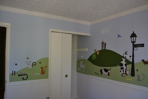 Pet Themed Wall Stickers