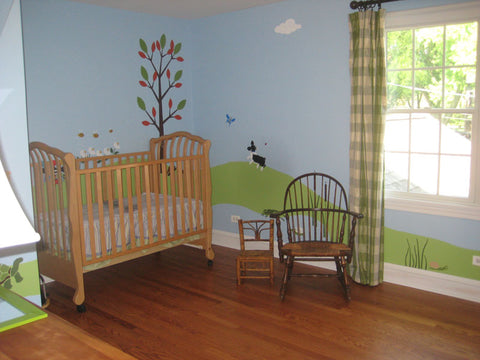Forest Theme Baby Room