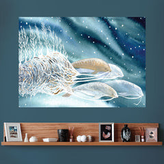 Beluga Whales Wall Decal