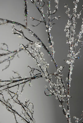 Iced Branches for Christmas