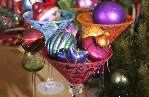 Jewel Toned Christmas Decor