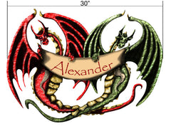 Personalized Dragon Wall Stickers