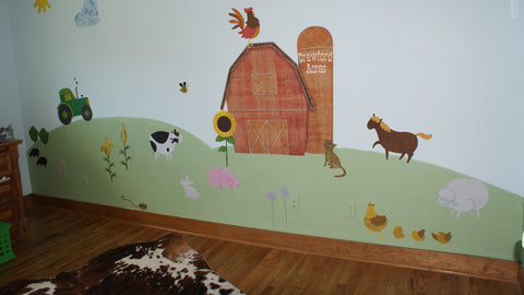 Large Barn Wall Sticker