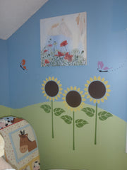 Sunflower Stencils