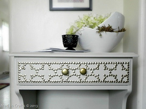 DIY Nailhead Table