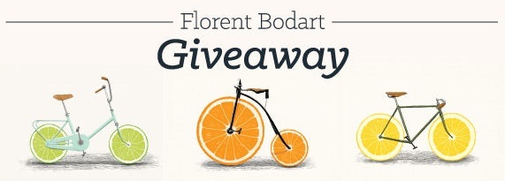 Florent Bodart Art Giveaway