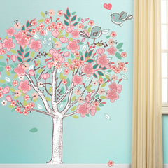 flowering tree wall sticker decal