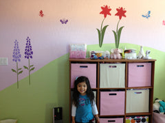 Flower Garden Girls Room