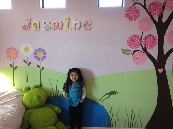 Garden Themed Mural Inspires Imagination