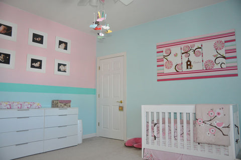 Create a Beautiful Nursery Without Painting the Walls!