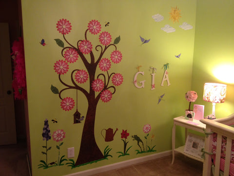 Flower Girl Room