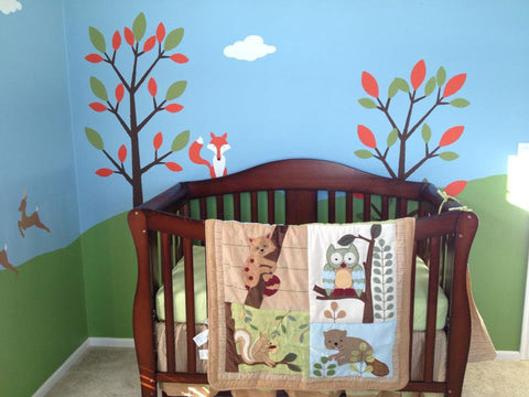 forest baby room