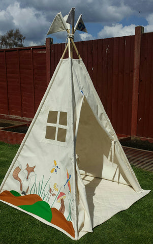 Forest Friends Themed Teepees Prove Our Stencil Kits Aren't Just For Walls!