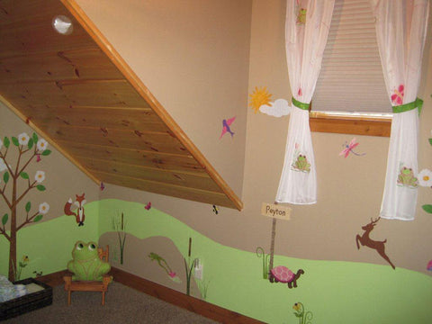 Forest Themed Wall Stickers