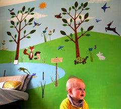 Forest Animal Wall Stickers