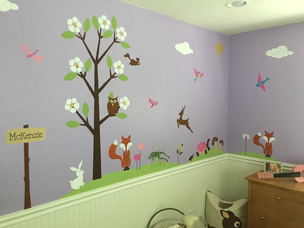 Whimsical Forest Themed Nursery