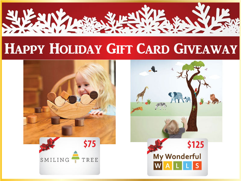 Win $200 to Spend on Holiday Gifts with My Wonderful Walls and Smiling Tree Toys