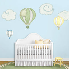 Hot Air Balloon Wall Decal