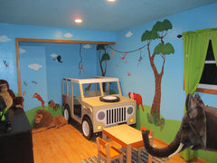 Jungle Kids Room