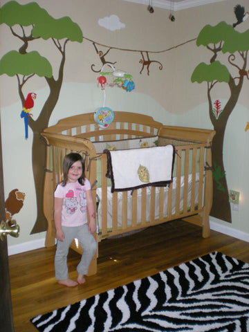Wild Safari Nursery Theme