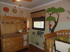 Safari Themed Wall Stencils