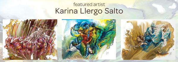 Meet the Artist Behind Our Ballerina Fantasy Art Decals - Karina Llergo Salto
