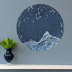 Lyra Constellation Wall Sticker