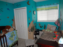 Ocean Themed Mural for Kids