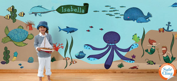 Ocean Theme Wall Sticker Kit