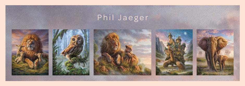 Magical Wildlife and Fantasy Painting Decals by Phil Jaeger