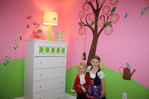 tree sticker decal walls