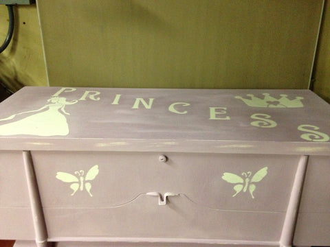 Princess Crown Stencils