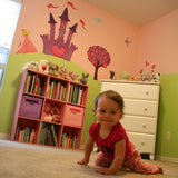 How to Create a Princess Mural with Wall Decals in 4 Easy Steps