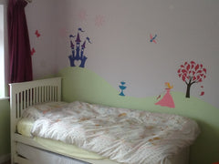 Princess Room Mural