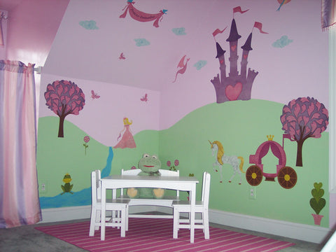 Princess Playroom Mural