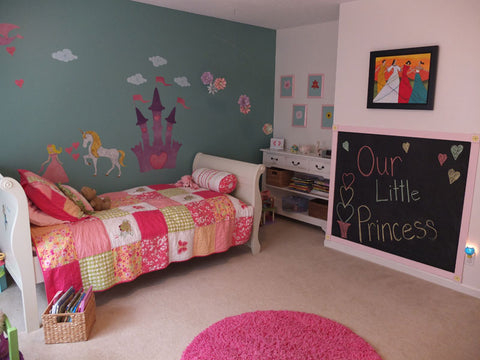princess room makeover