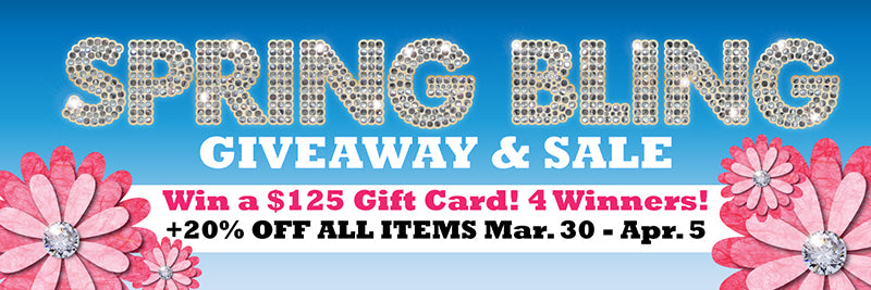 Spring Bling Giveaway ~ Win a $125 My Wonderful Walls Gift Card