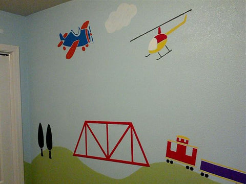 transportation theme room