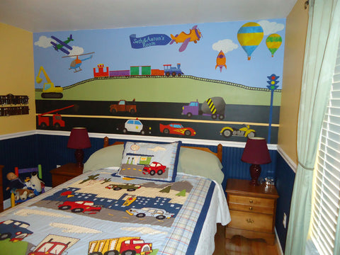 Transportation Boys Room