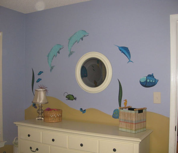 How to Accessorize an Under the Sea Kids Room