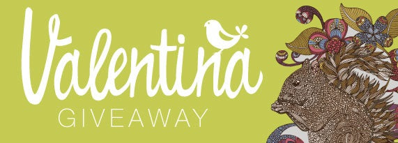 Valentina Harper Wall Sticker Giveaway! Win Inspirational and Ornate Animal Wall Art!