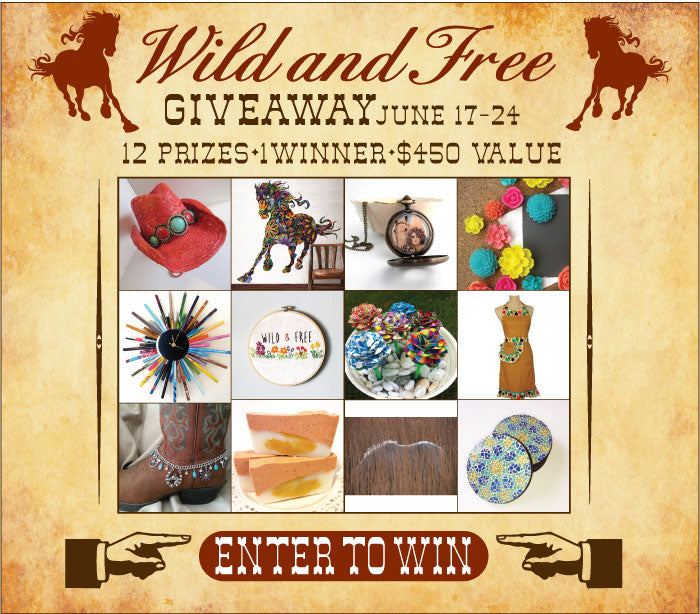Wild and Free Giveaway -12 Prizes $450 Value