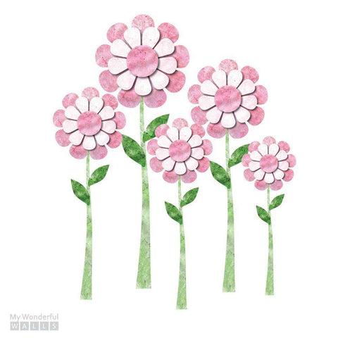 Large Daisy Flower Wall Stickers