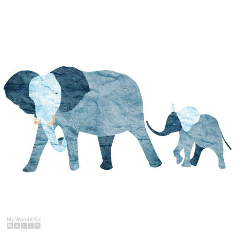 Elephant Duo Wall Sticker Set