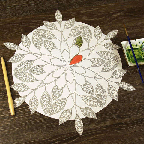 Branching Out Mandala ColorMe Decal