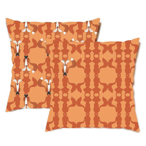 Fox of the Forest Throw Pillow