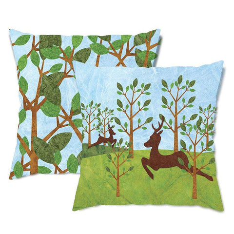 Darling Deer Throw Pillow