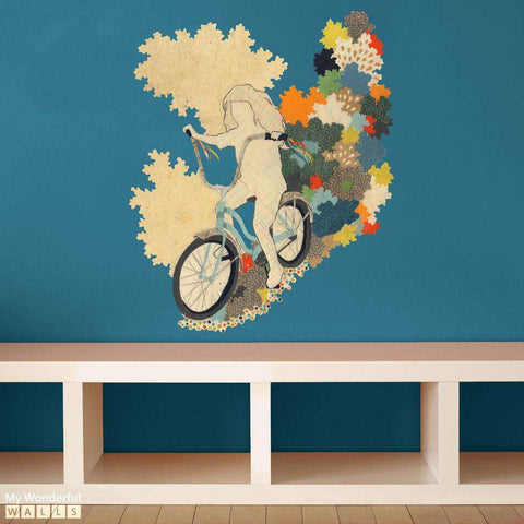 The First Freedom Cut Out - Collage Art Wall Sticker Decal by Hollie Chastain