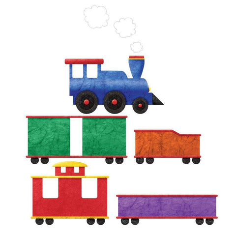 Train Wall Sticker Decal