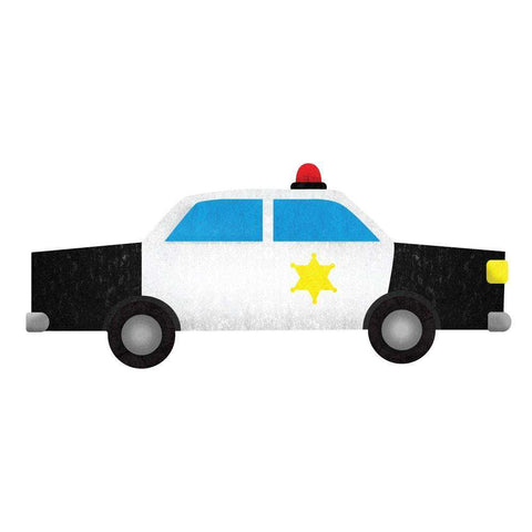 Police Car Wall Sticker Decal